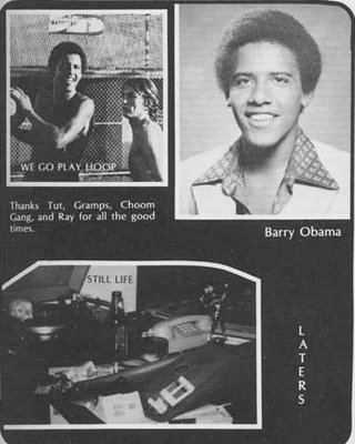 "That was called the ""Most Likely to Become President 'fro""."